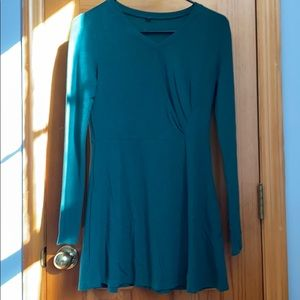 Tops - Emerald green long shirt